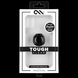 Case-Mate iPhone Xs Max Tough Clear Case w Ring